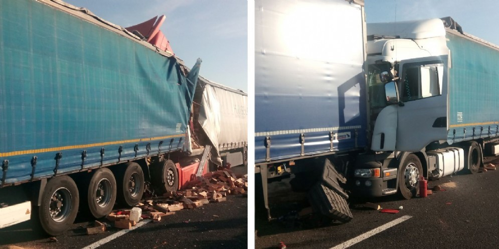 Tamponamento tra mezzi pesanti: chiusa l'A4 tra Latisana e Portogruaro
