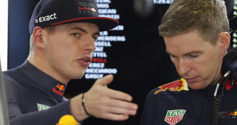 Il pilota della Red Bull, Max Verstappen