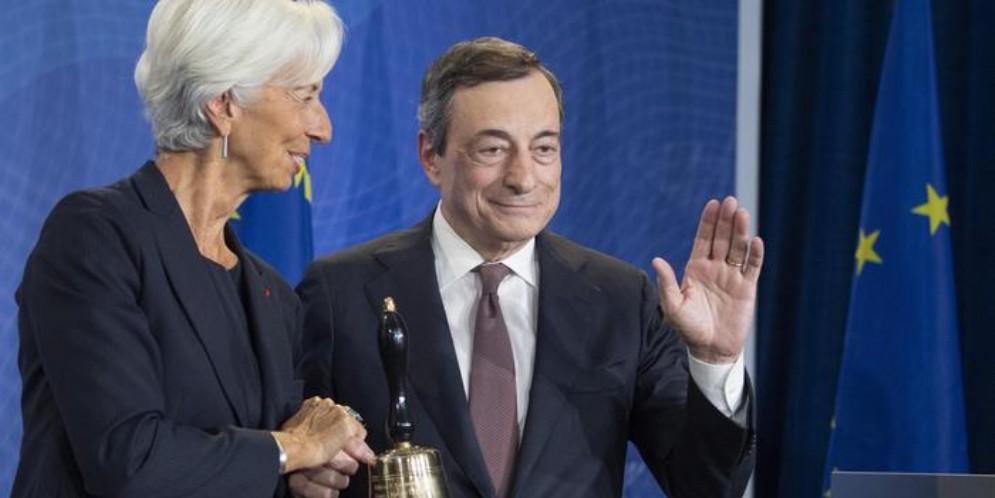 Per Mario Draghi ultimo giorno in Bce: tocca a Christine Lagarde