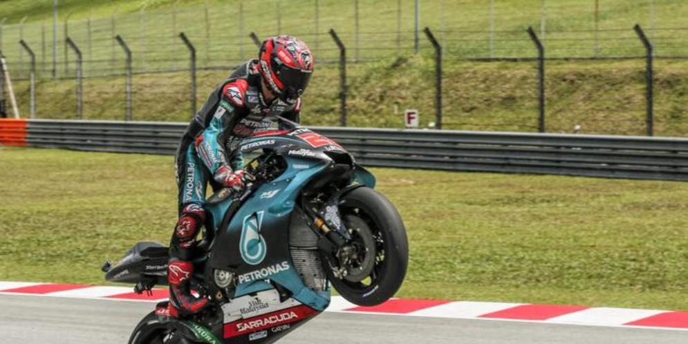 Fabio Quartararo in pole in Malesia
