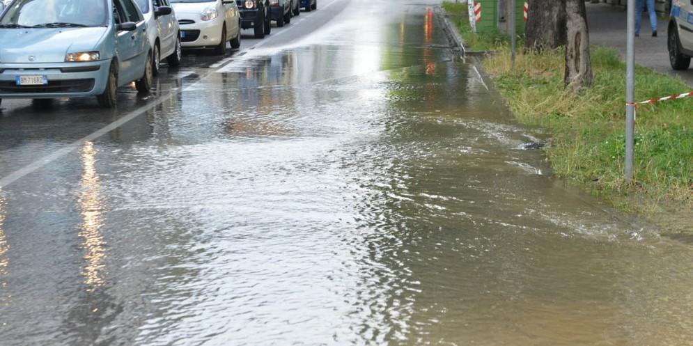 Forte vento e pioggia: il Friuli sferzato dal maltempo