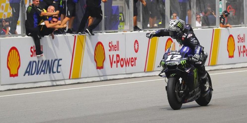 Maverick Vinales trionfa nel GP della Malesia