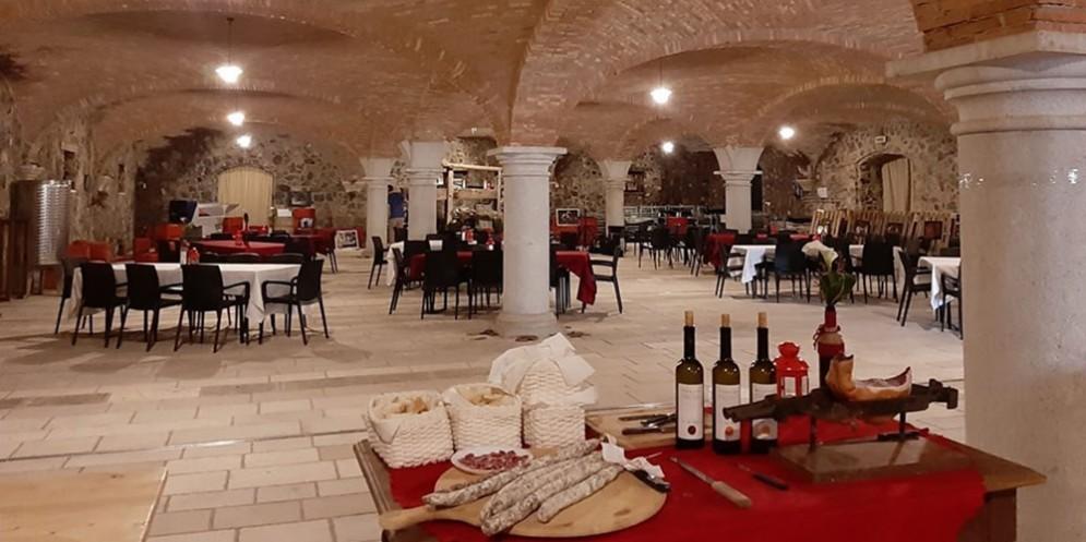 San Martino in cantina al Castello di Rubbia