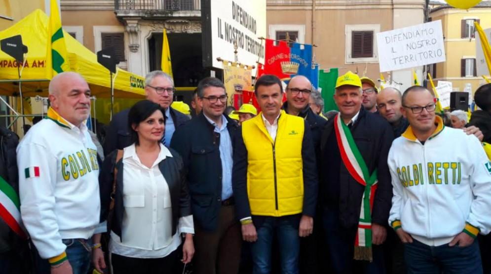 Coldiretti Fvg a Roma contro l'invasione dei cinghiali: 15 mila esemplari in regione