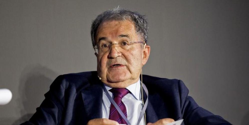 L'ex Premier e Presidente della Commissione europea, Romano Prodi