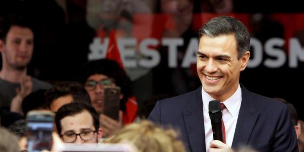 Pedro Sanchez, leader del Partito Socialista spagnolo