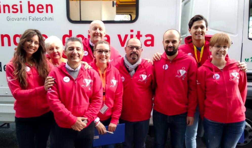 Donazione di sangue al Terminal Nord grazie alla sezione Afds di Molin Nuovo