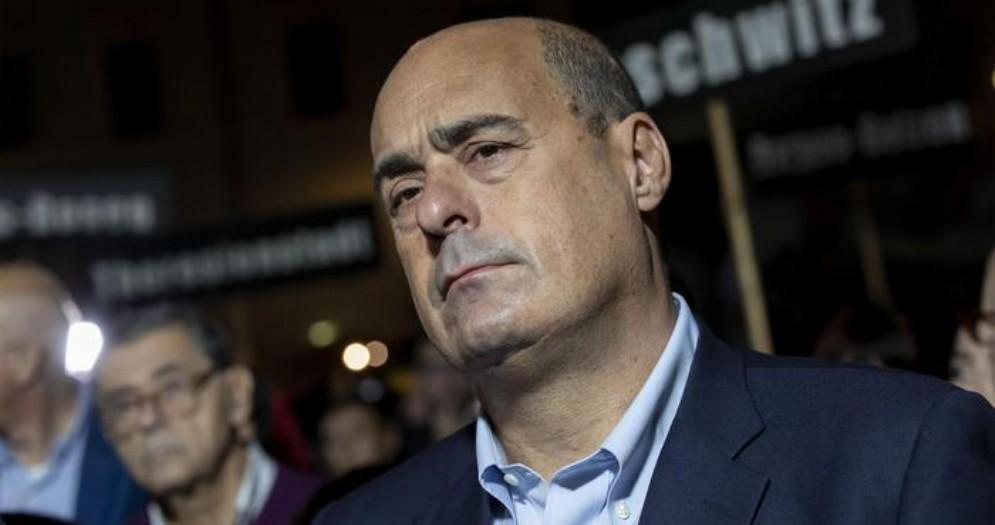 Il Segretario del Partito Democratico, Nicola Zingaretti