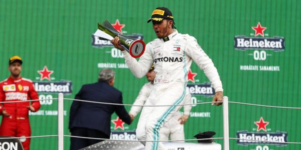 Hamilton dubita che la Mercedes possa superare la Ferrari in Brasile
