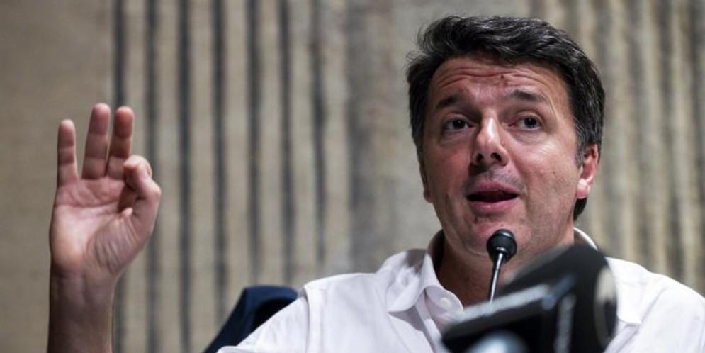 Il Segretario di Italia Viva, Matteo Renzi