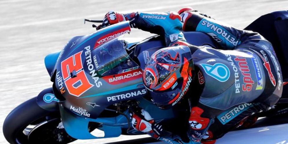 Fabio Quartararo su Yamaha