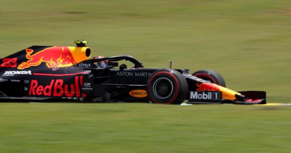 La Red Bull di Max Verstappen