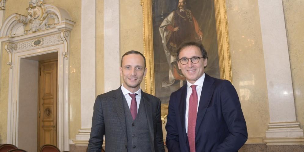 Il Governatore FVG Massimiliano Fedriga con il Ministro Francesco Boccia