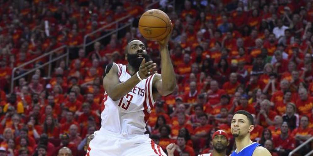 James Harden degli Houston Rockets