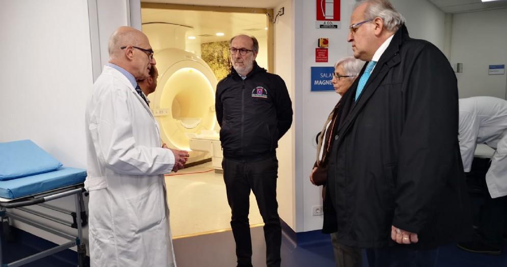 Riccardi: «Nuova risonanza magnetica a Gorizia specializza ospedale»