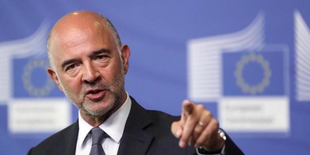 Il commissario europeo, Pierre Moscovici