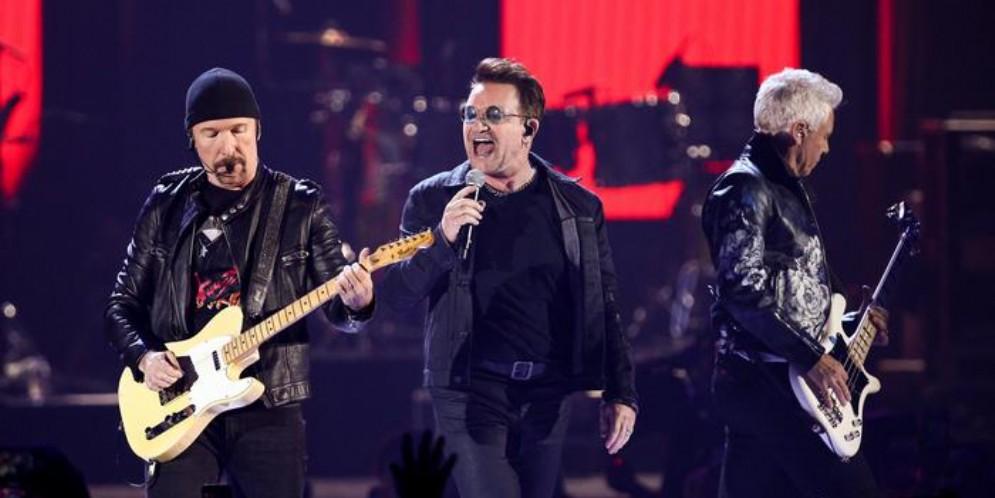 Gli U2 in concerto