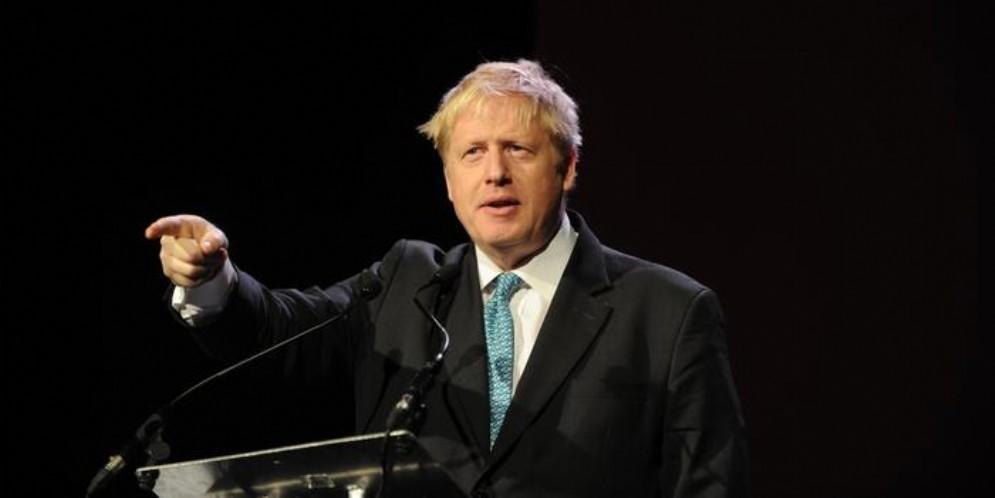 Il leader dei conservatori britannici, Boris Johnson