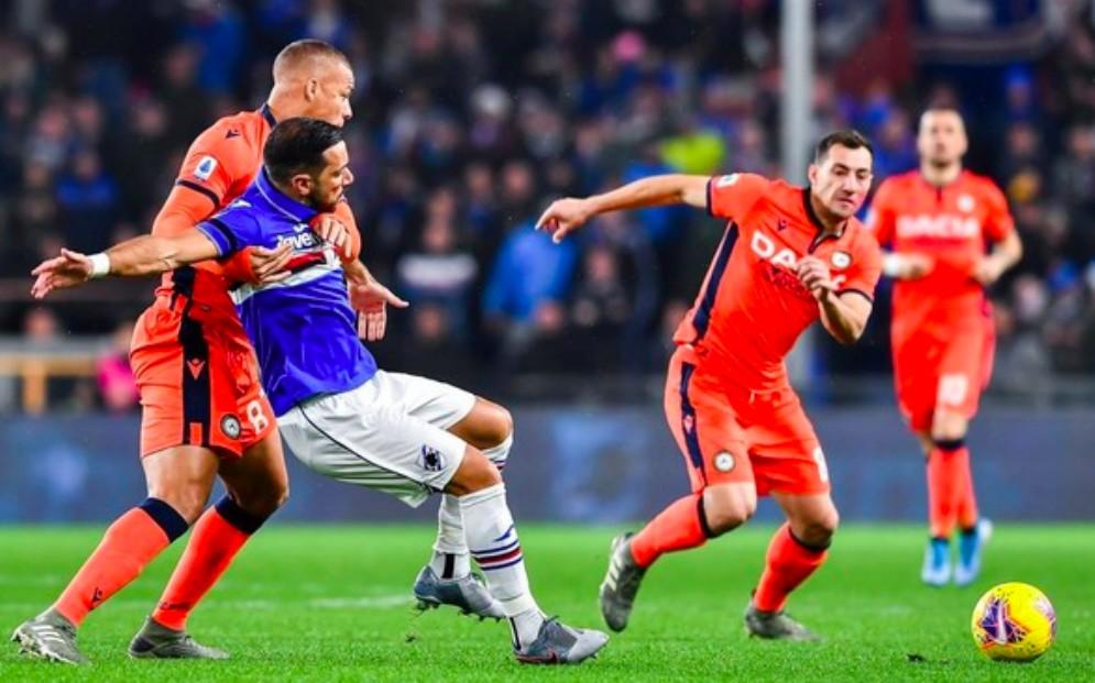 L'Udinese perde a Marassi 2 a 1 contro la Sampdoria