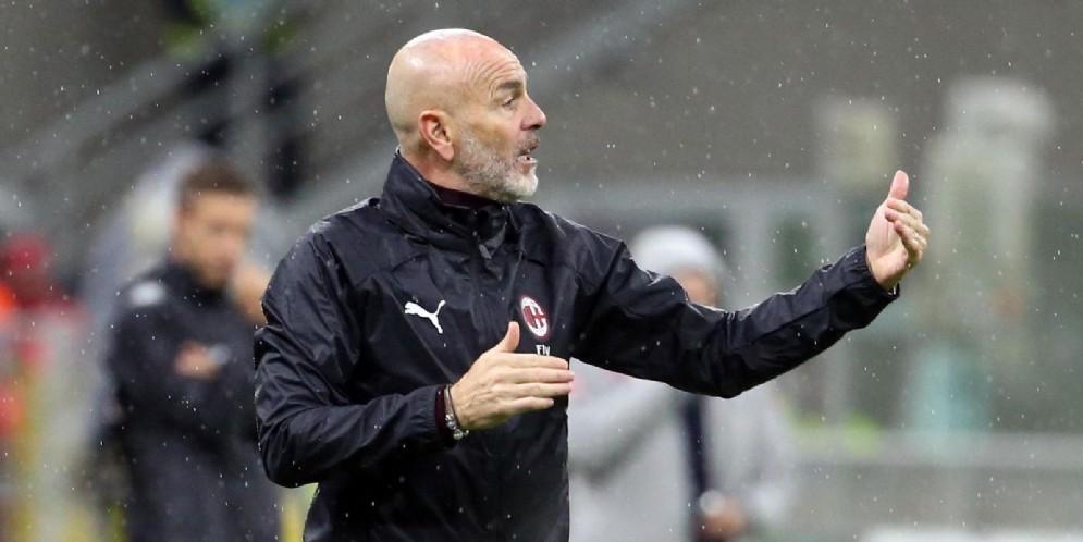 Stefano Pioli, allenatore del Milan
