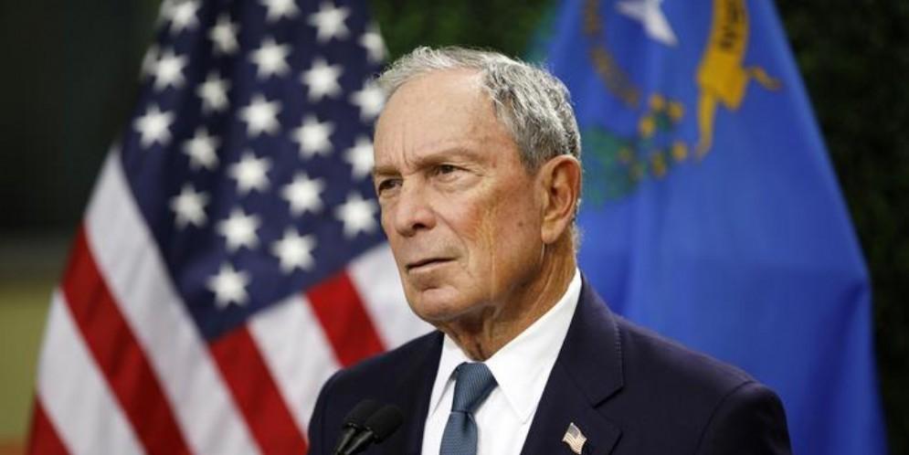 L'ex Sindaco di New York, Michael Bloomberg