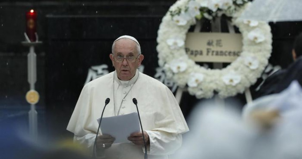 Papa Francesco a Nagasaki