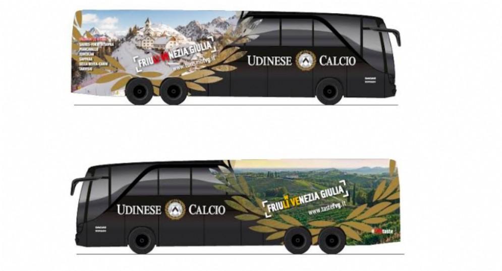 L'Udinese si consolida brand Ambassador per il Friuli Venezia Giulia