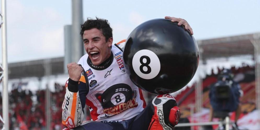 Marc Marquez si opera alla spalla destra