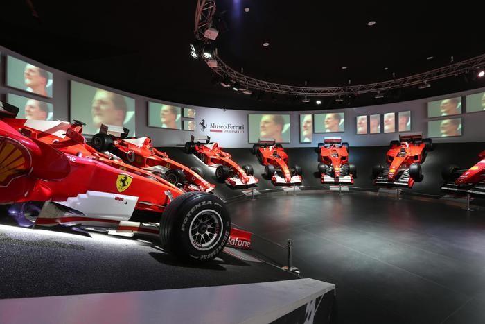 Le monoposto del Cavallino al museo Ferrari