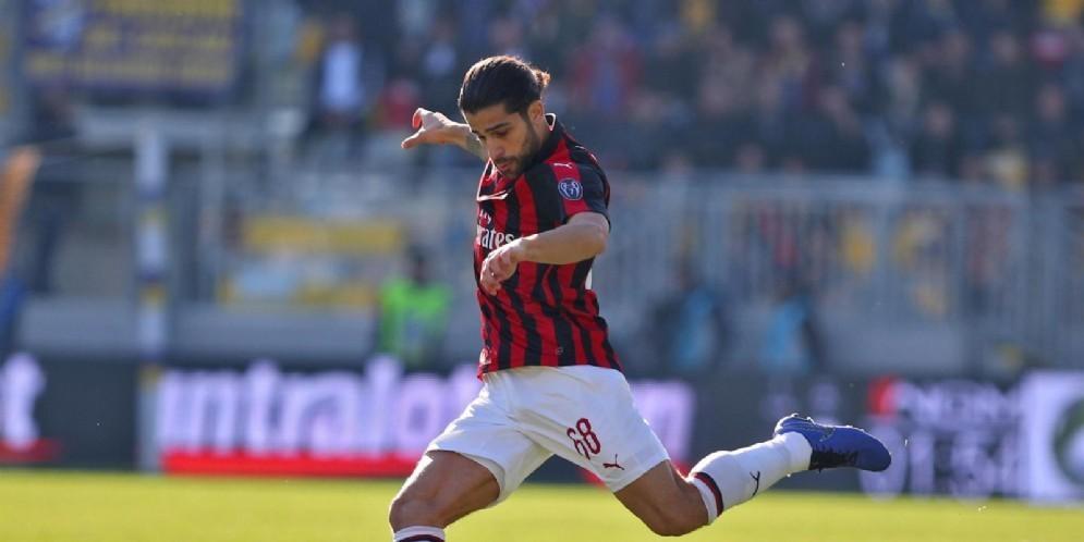 Ricardo Rodriguez, terzino sinistro del Milan e della nazionale svizzera, uno dei possibili partenti milanisti a gennaio