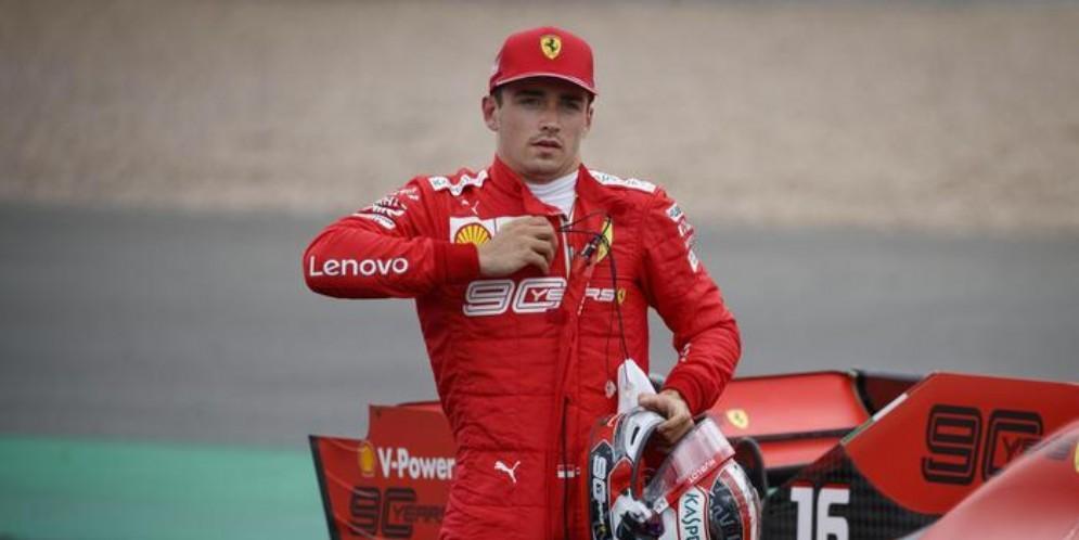 Charles Leclerc alla prima stagione in Ferrari