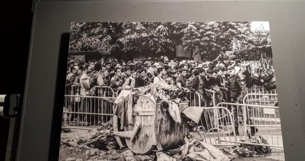 Mostra fotografica «Dentro l'Esodo», lungo la rotta balcanica