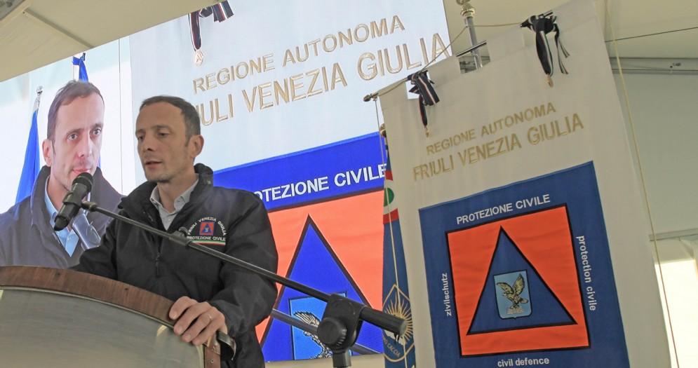 Il Presidente della Regione FVG, Massimiliano Fedriga