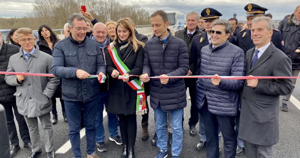 Terza corsia A4, Massimiliano Fedriga: «Viadotto Tagliamento sia esempio per l'Italia»