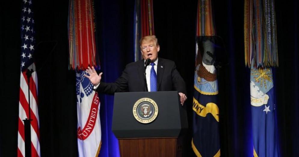 Il Presidente americano, Donald Trump