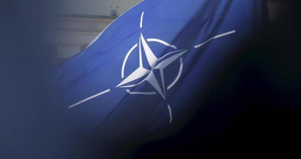 La bandiera della NATO
