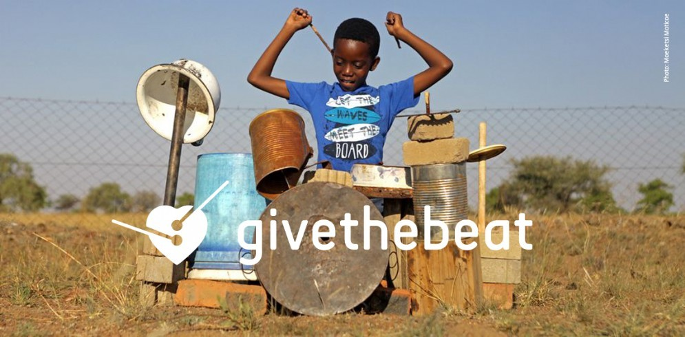 Campagna «Give the beat»