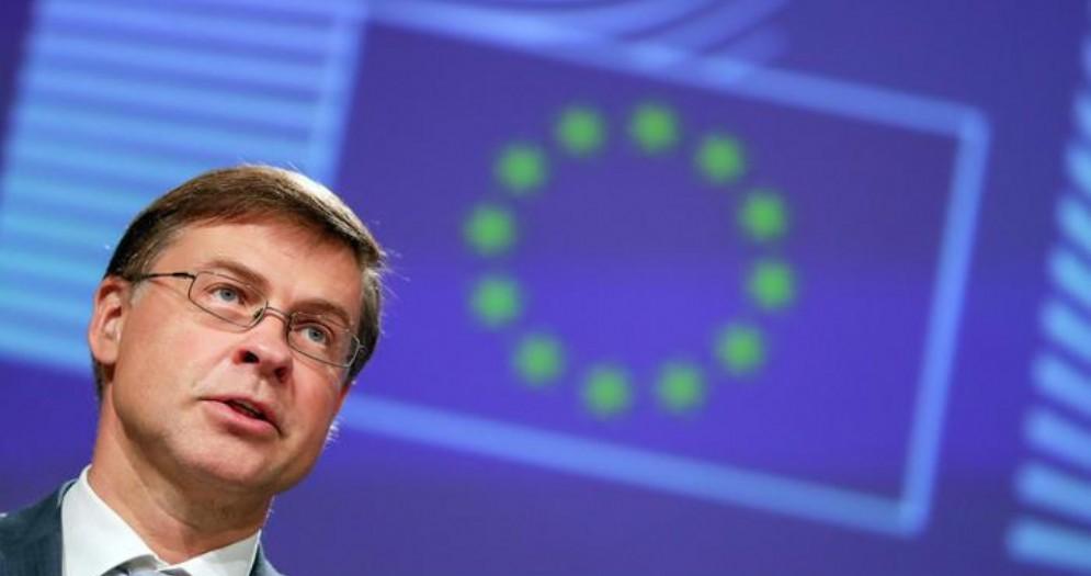 Il vice presidente della Commissione europea, Valdis Dombrovskis