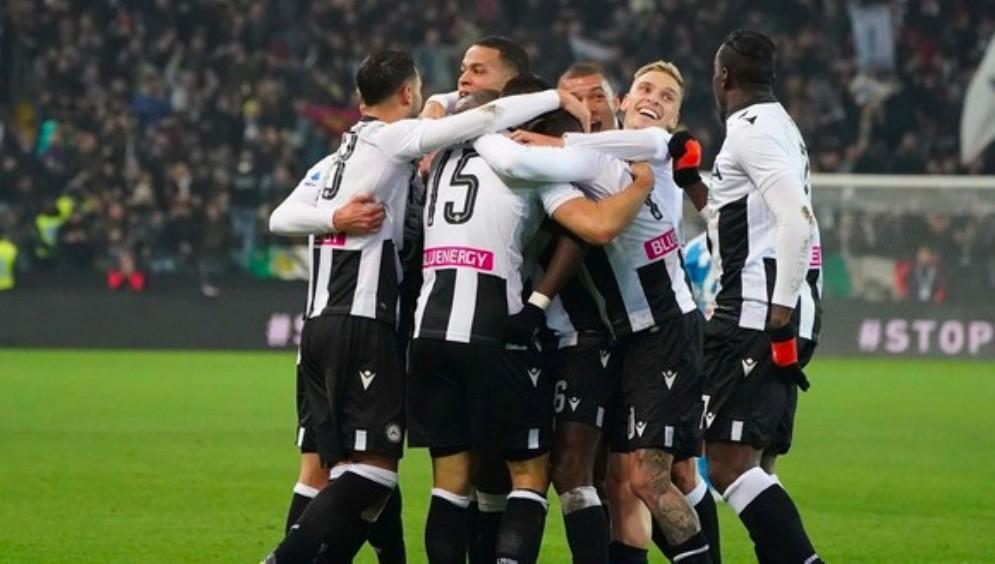 Udinese-Napoli finisce 1 a 1: a Lasagna risponde l'ex Zielinski