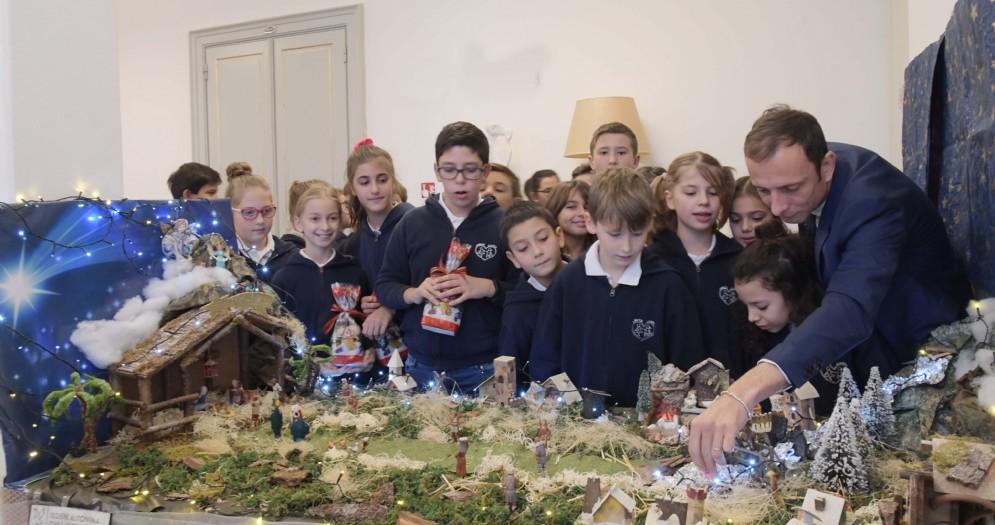 Fedriga ospita i ragazzi della quinta primaria dell'istituto Sacro Cuore di Gesù di Trieste
