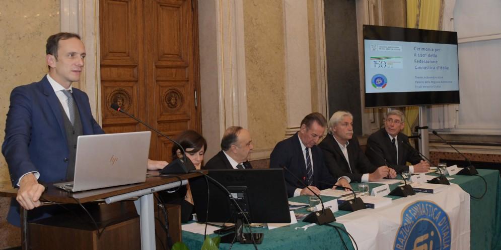 Il Presidente del Friuli Venezia Giulia, Massimiliano Fedriga