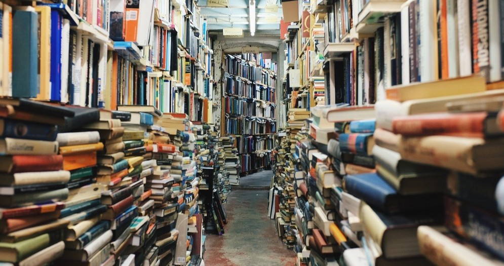 Interno di una libreria
