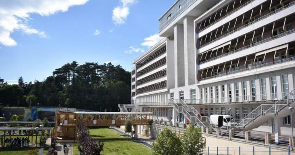 Gli esterni della Scuola SISSA di Trieste
