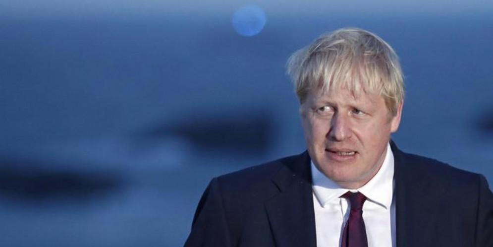 Il leader dei Tories, Boris Johnson