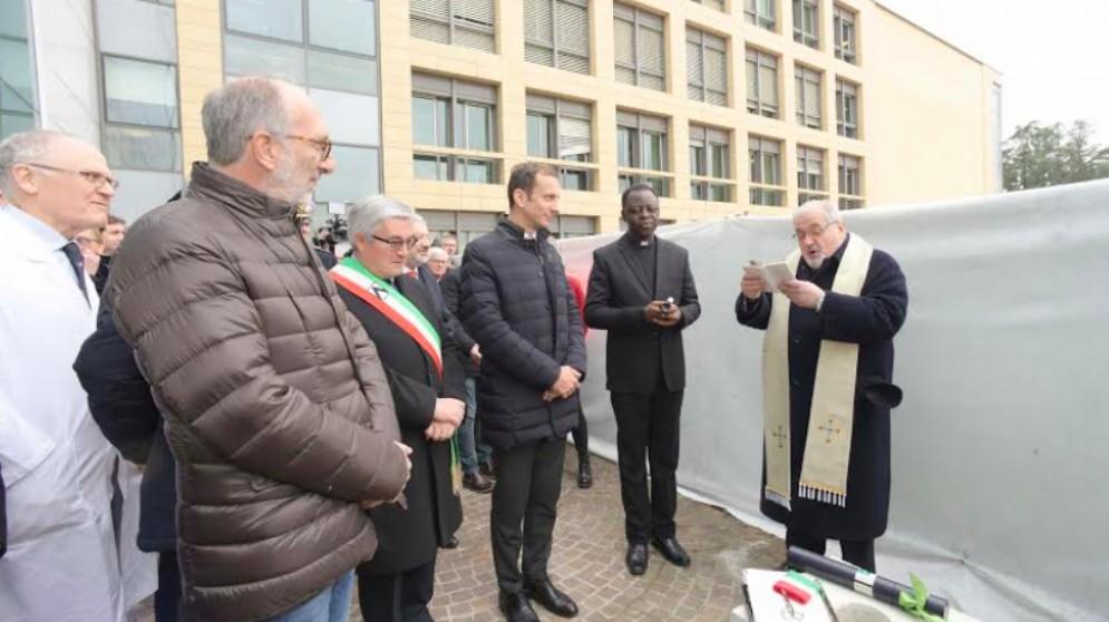Posata la prima pietra del III e IV lotto del nuovo Ospedale di Udine