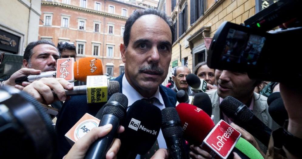 Il capogruppo PD alla Camera, Andrea Marcucci