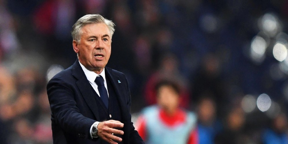 Carlo Ancelotti, tecnico dell'Everton