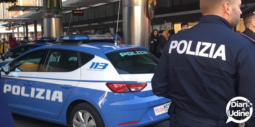 Rissa in borgo stazione: intervento della Polizia