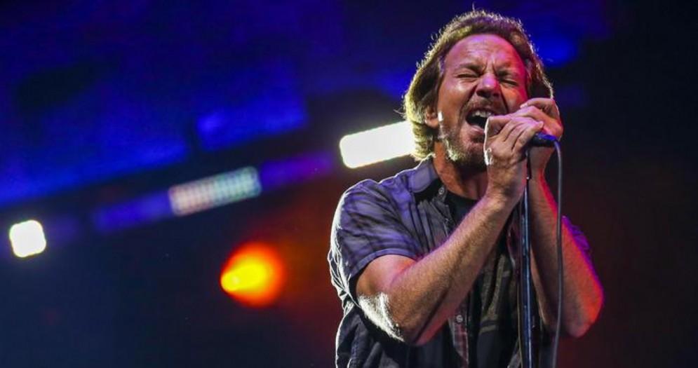 Eddie Vedder frontman dei Pearl Jam