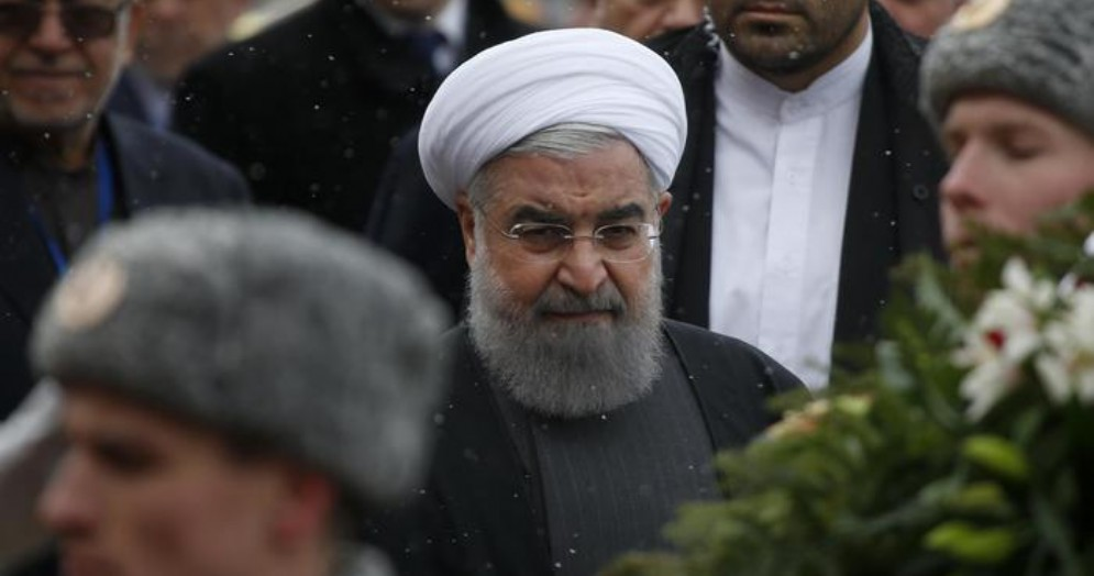 Il Presidente iraniano, Hassan Rohani